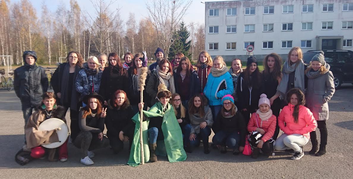 Vändra ja Kilingi-Nõmme õpilasesindused. FOTO: erakogu